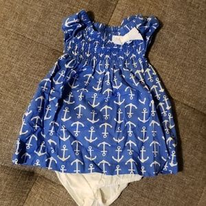 Carter's Nautical dress set